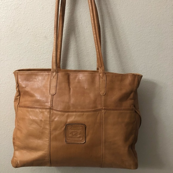 6ead5aa86e4c Geoffrey Beene Handbags - Original Geoffrey Beene Leather Handbag